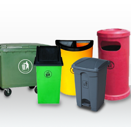 Polyethylene / Fibre Glass Bins
