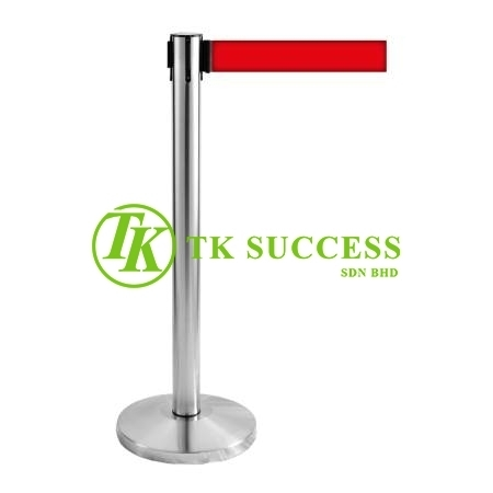Stainless Steel Retractable Belt Q-Up Stand