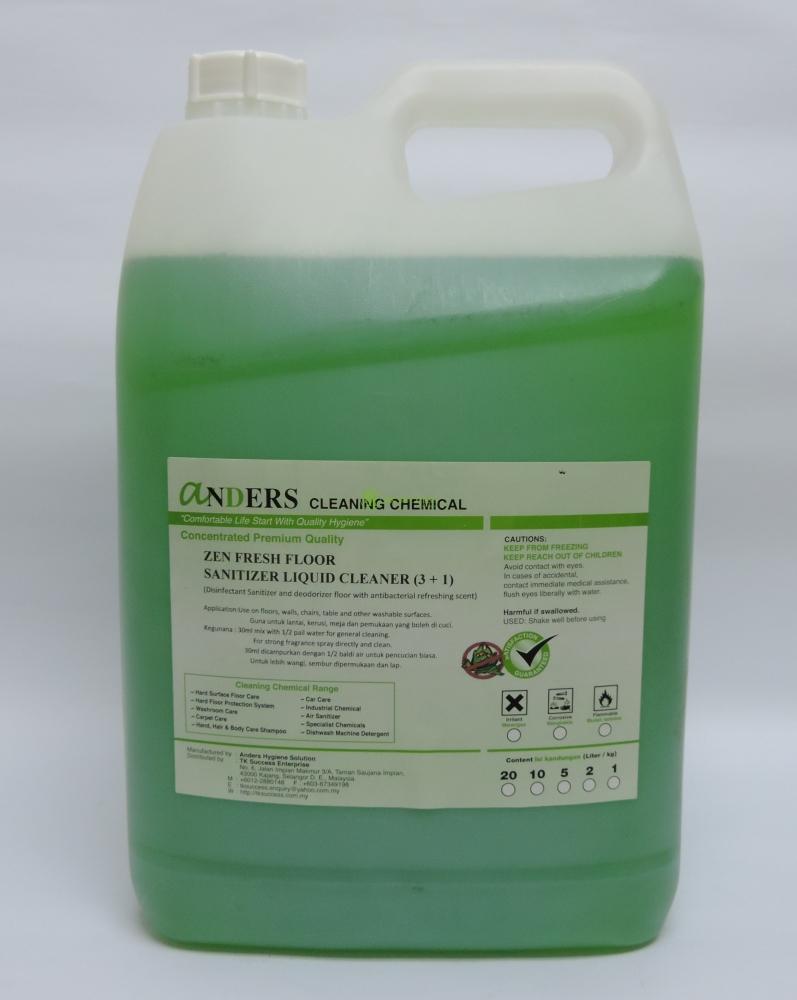 Anders Zen Fresh Cleaner (Disinfectant, Deodorizer & Cleaner)