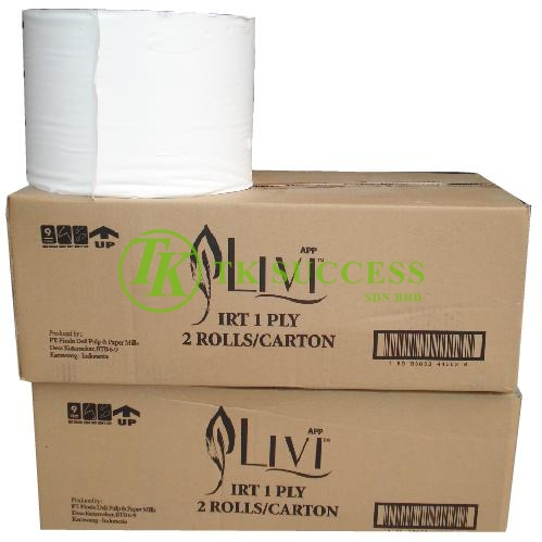LIVI Industry Roll Tissue 1000  (Virgin Pulps)