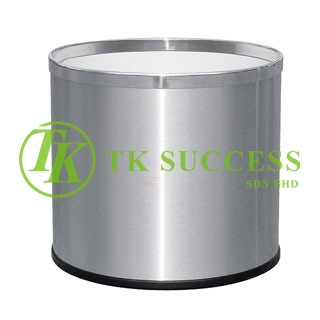 Stainless Steel  Planter Pot (Round)