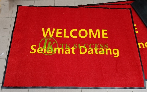 Dust Control Laundry Mat WELCOME / SELAMAT DATANG - Wet / Dry