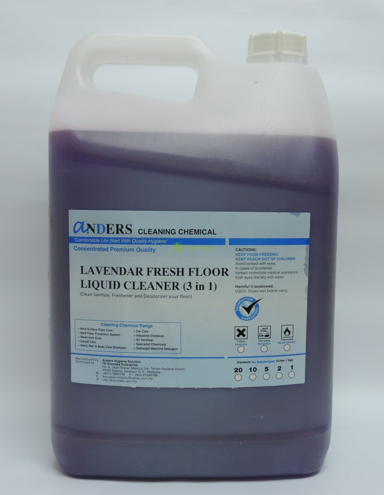 Anders Lavendar Cleaner (Disinfectant, Deodorizer & Cleaner)