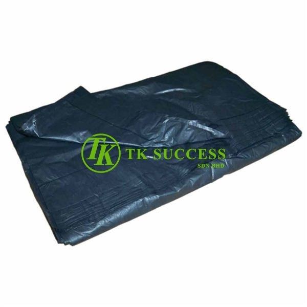 Black Garbage Bag (Thin) L 74cm X 90cm