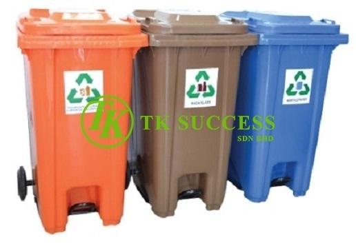 Recycle Pedal Bin 120
