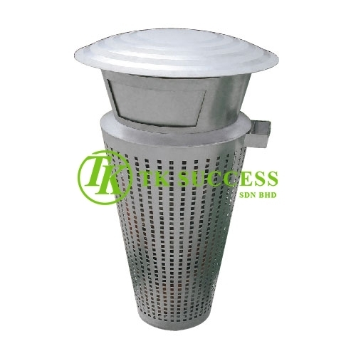 Stainless Steel Outdoor Waste Bin