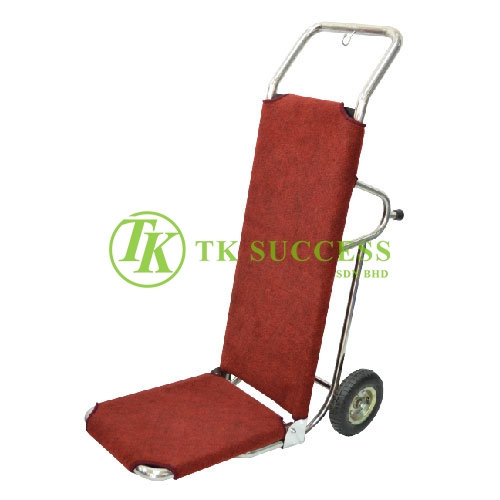 Stainless Steel Bell Boy Trolley