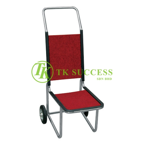 Stainless Steel Banquet Chair Trolley