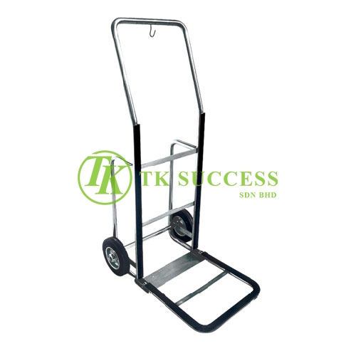 Stainless Steel Bell Boy Hand Truck W/O Carpet