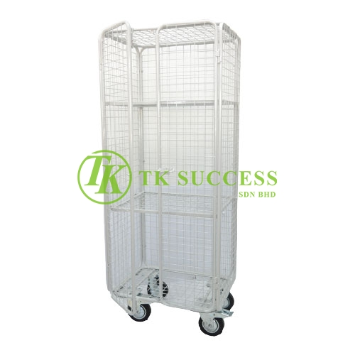 Powder Coating Clean Linen Trolley