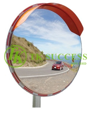 Stainless Steel Outdoor Convex Mirror(Pole Mounted)