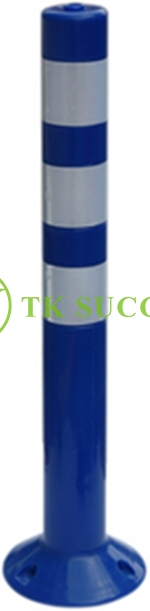 PE Elastic Pole (Blue) c/w Bolt Nut