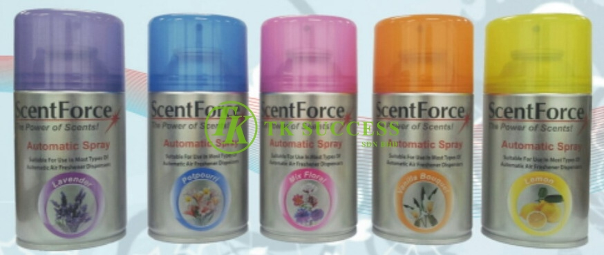 Scent Force Air Freshener Refill Meter Spray 300ml