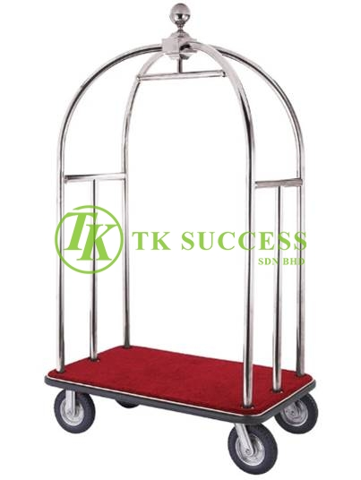 Stainless Steel Birdcage Cart