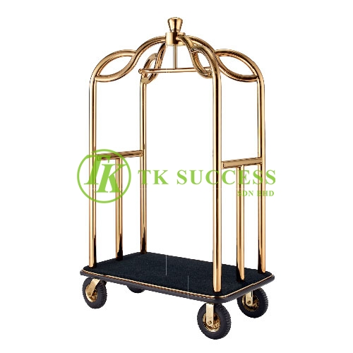 Crown Birdcage Cart