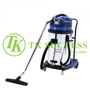 Kenju Stainless Steel Wet & Dry Vacuum Cleaner 80L (Twin Italy Motor)