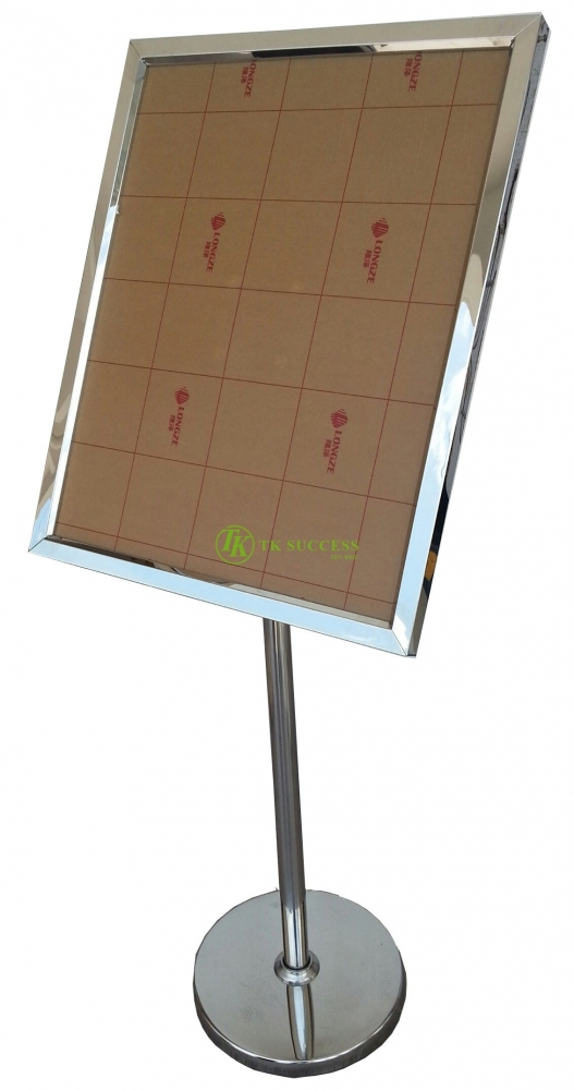 Stainless Steel A2 Sign Board Stand (45 degree)