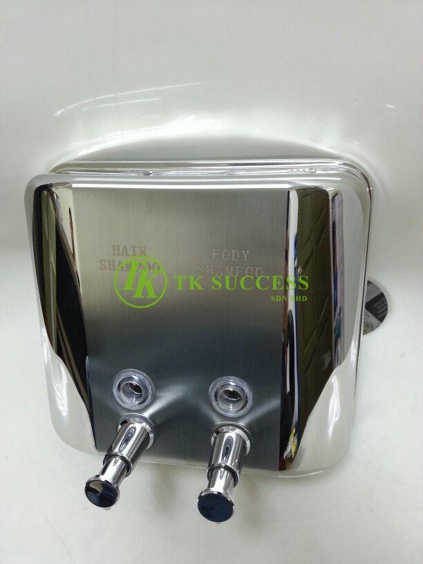 Stainless Steel Elegant Hair & Body Soap Dispenser