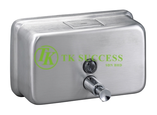 Stainless Steel Soap Dispenser 1200ml (Horizontal)