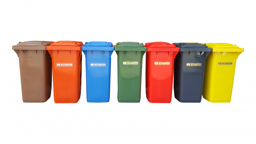 Schaefer Mobile Garbage Bin 120 Litre  (Germany)