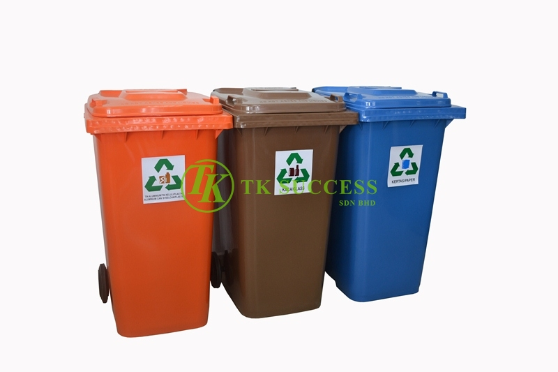 Recycle Bin 240 Flat Top (Schaefer Germany) 3in1