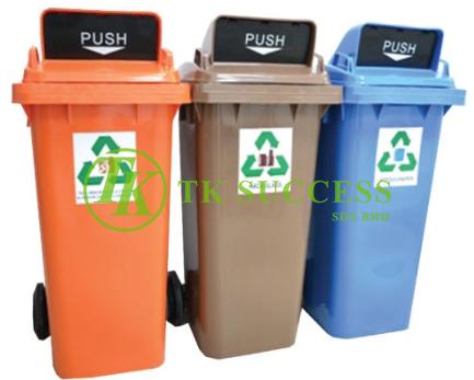 Recycle Bin 240 Flip Top