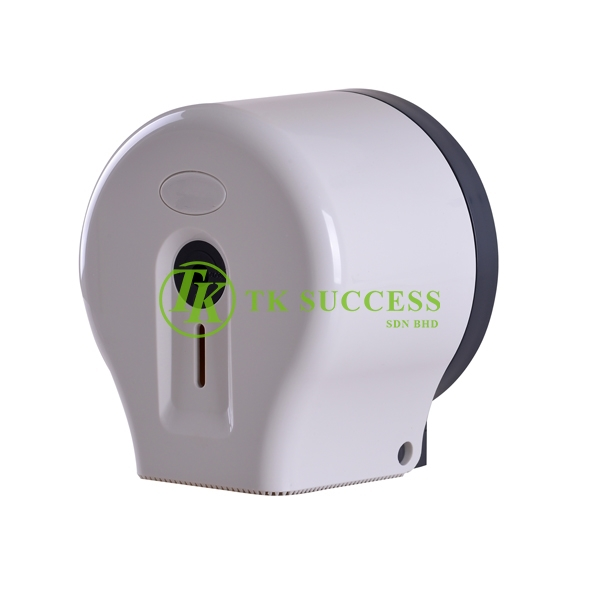 Vida Small Toilet Roll Tissue Dispenser (White)