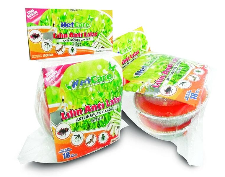 Netcare Serai Wangi Lilin Anti Lalat & Nyamuk 110G (3pcs/pkt)