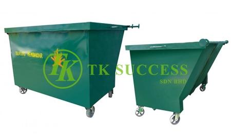 Metal Leach Bin 1500 (Green)