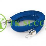 Velvet Rope Blue 5' (Chrome)