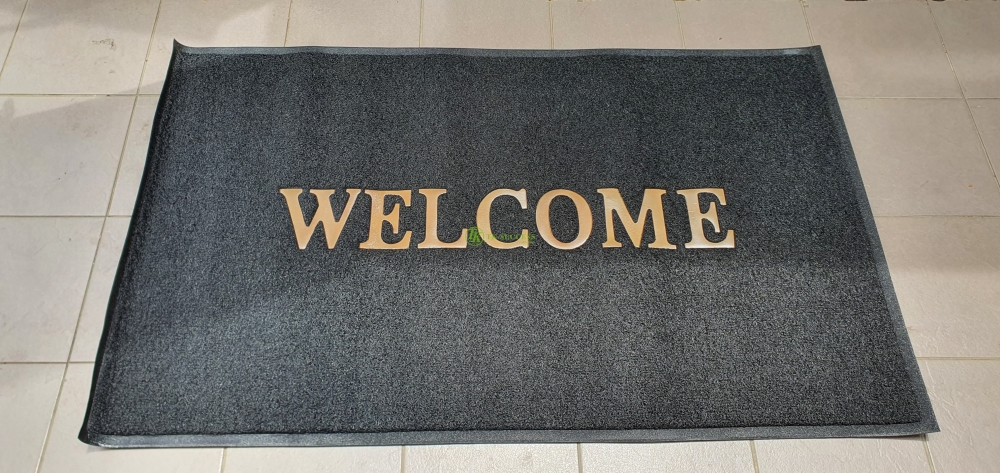 Welcome Coil Mat Standard - Hot Press (Dry)