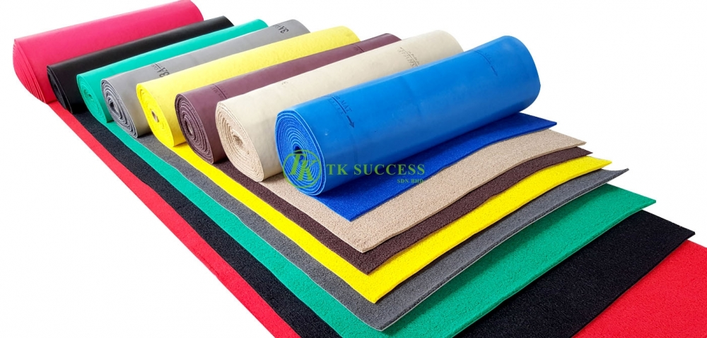 3A Coil Mat with Edging - WELCOME / SELAMAT DATANG (Dry)