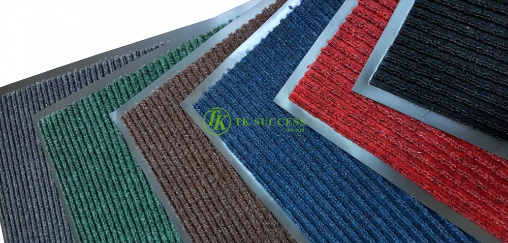 WELCOME Tough Rib Mat with Edging (Wet / Dry)