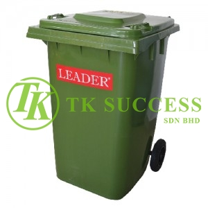 Leader Mobile Garbage Bin 360 Litre