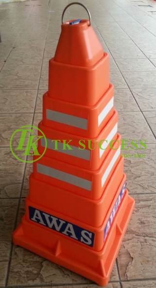 Traffic Cone Collapsible 24