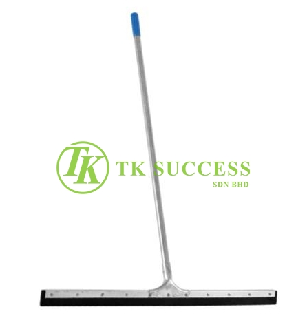 Stainless Steel Floor Squeegee (Rubber)