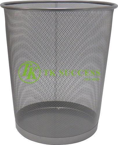 Powder Coated Mesh Waste Paper Basket Bin