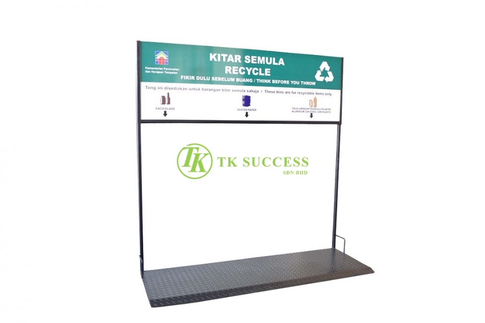 Recycle Bin Platform Stand - For 120L Bin