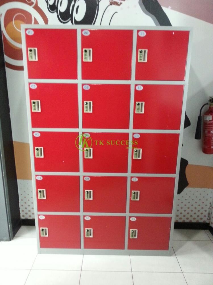 Keyless Metal Locker (15 Doors)