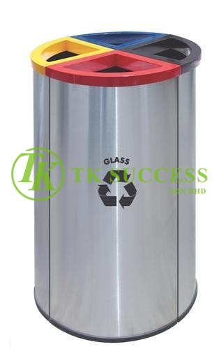 Round Recycle Bin 139