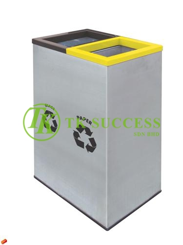Rectangular Recycle Bin 138