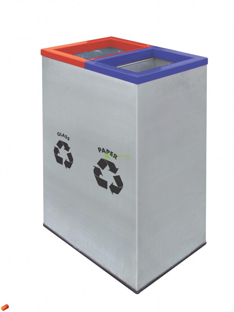 Rectangular Recycle Bin 138