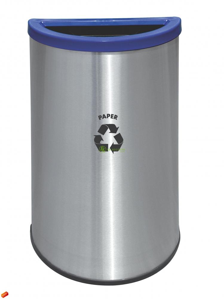 Semi Round Recycle Bin 140