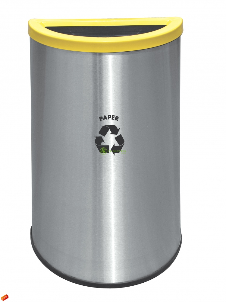 Semi Round Recycle Bin 140