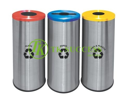 Round Recycle Bin 131