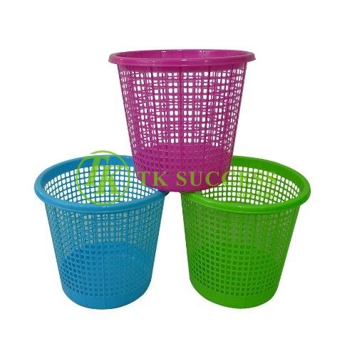 Plastic Waste Paper Basket Bin