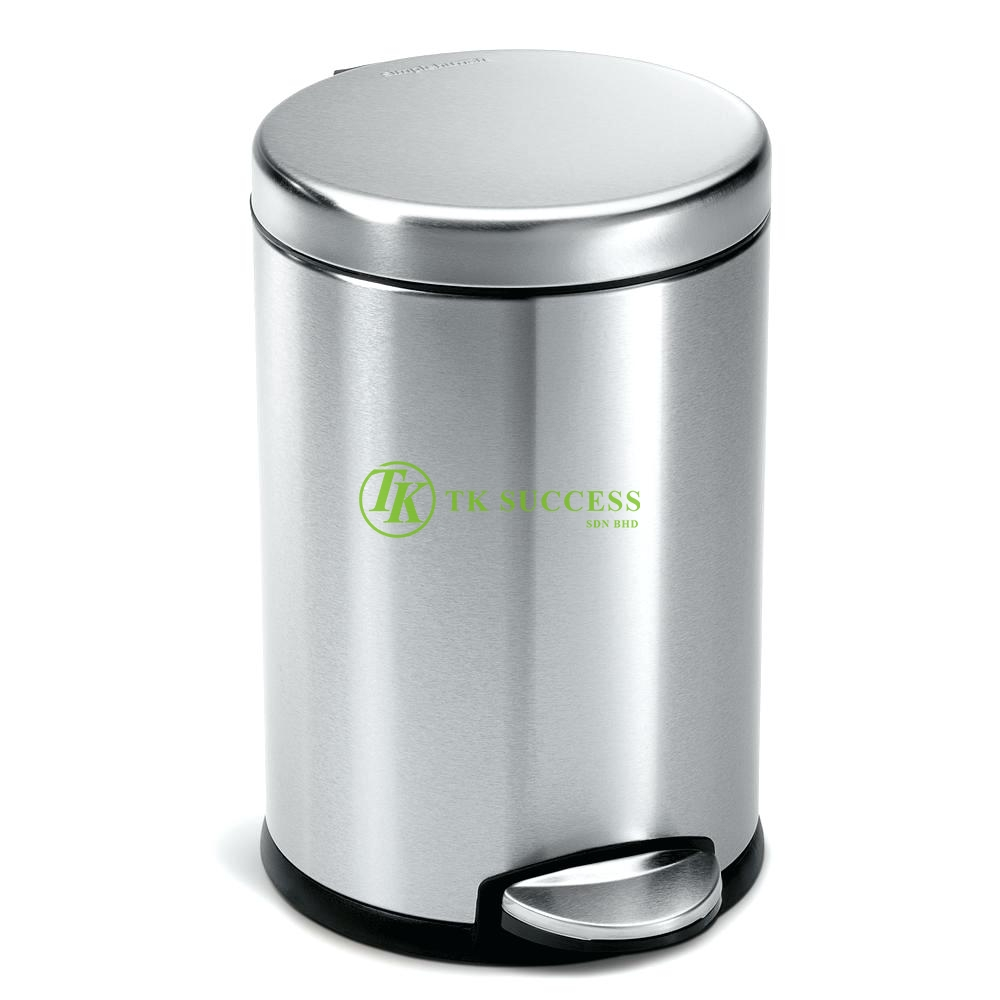 Stainless Steel Pedal Bin 12L (Satin)