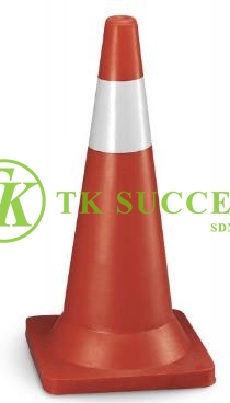 Traffic Cone 30 with Reflective Sticker