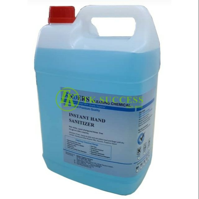 Anders Instant Hand Sanitizer Liquid (5 Litres)