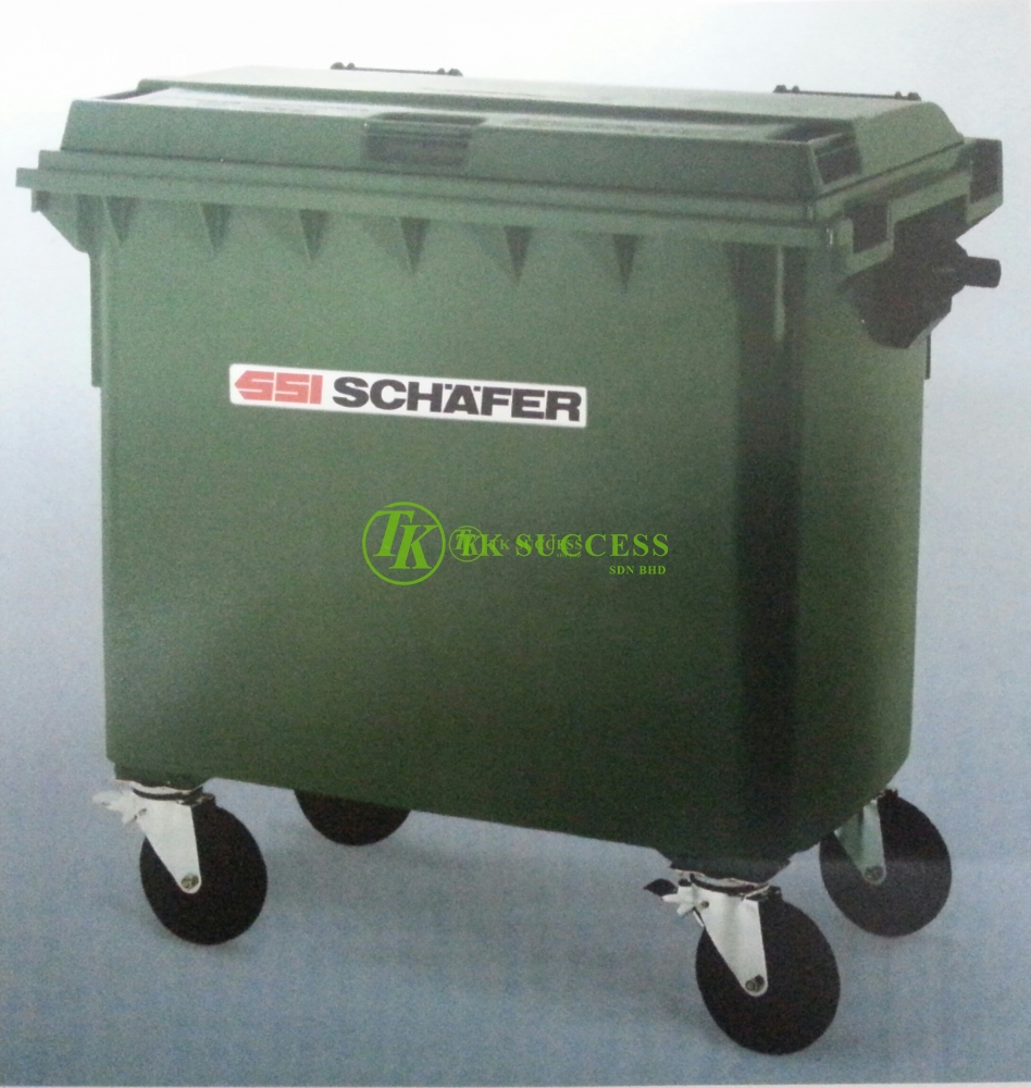Schaefer Mobile Garbage Bin 1100 Liter (Germany)